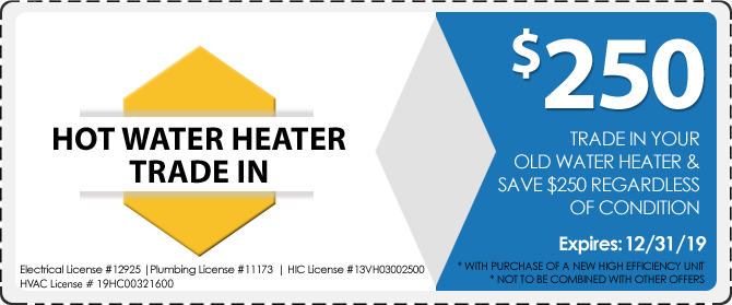 AJS Hot Water Heater Special Coupon